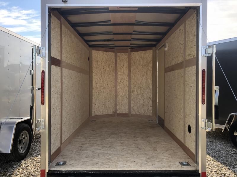 2020 6x10 Wells Cargo Enclosed Cargo Trailer. 00394