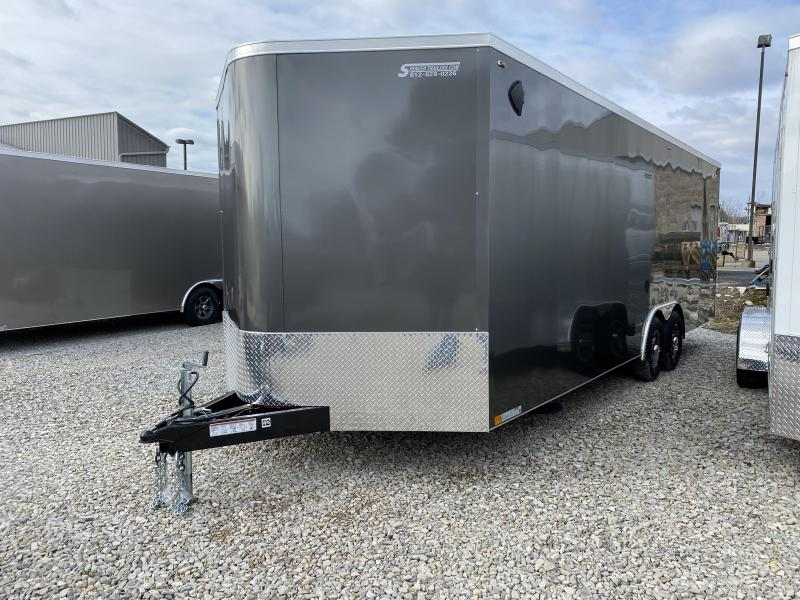 2020 8.5x24+2V-Nose 10K Legend Cyclone Enclosed Trailer. 17350
