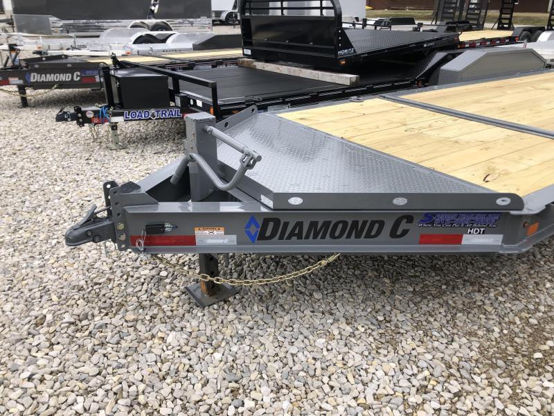 """2020 16'+4'x82"""" 14.9K Diamond C HDT Equipment Trailer. 24867"""
