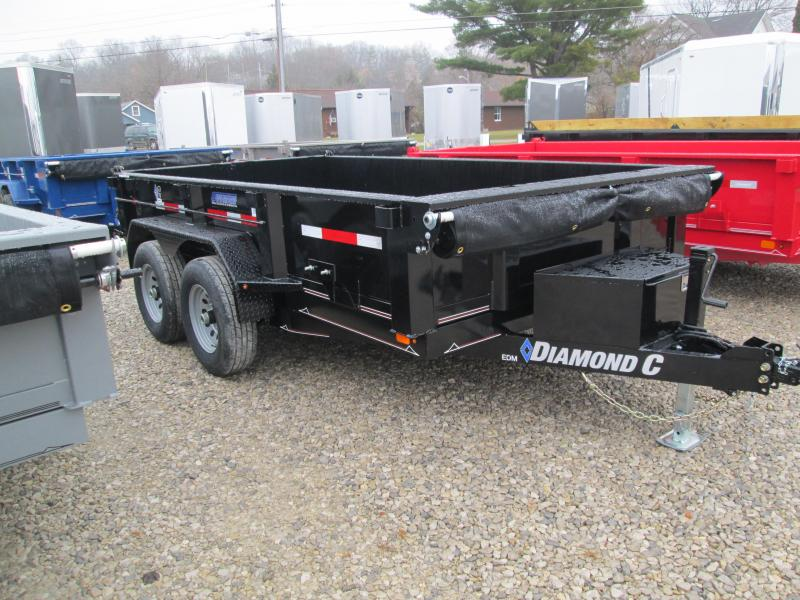 2020 12x77 10K Diamond C Dump Trailer. 22165
