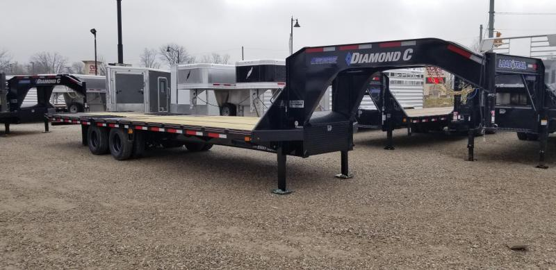 "2020 FMAX 210HDT 18'+12'x102"" 25K Diamond C Engineered Beam Equipment Trailer. 22437"