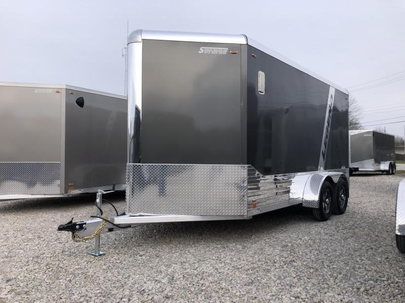 2020 7'x14'+V-Nose 7K Legend DVN Enclosed Trailer. 17970