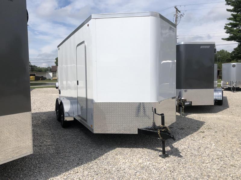 2020 LEGEND STV Cyclone 7x14 Plus V-nose Enclosed Trailer 17824