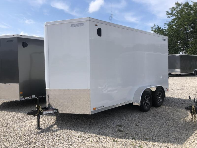 2020 LEGEND STV Cyclone 7x14 Plus V-nose Enclosed Trailer 17824