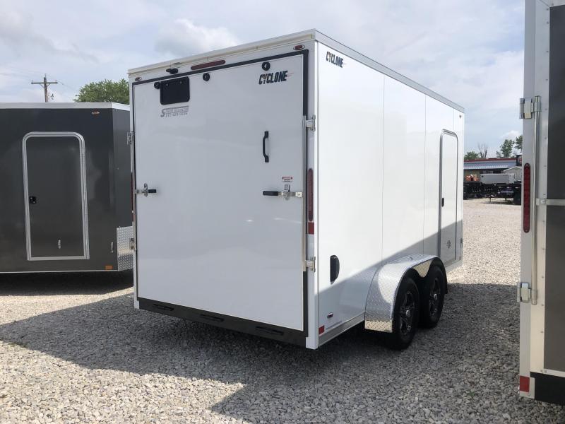 2020 Legend Cyclone STV 7x14 Plus V-nose Enclosed Trailer 17824