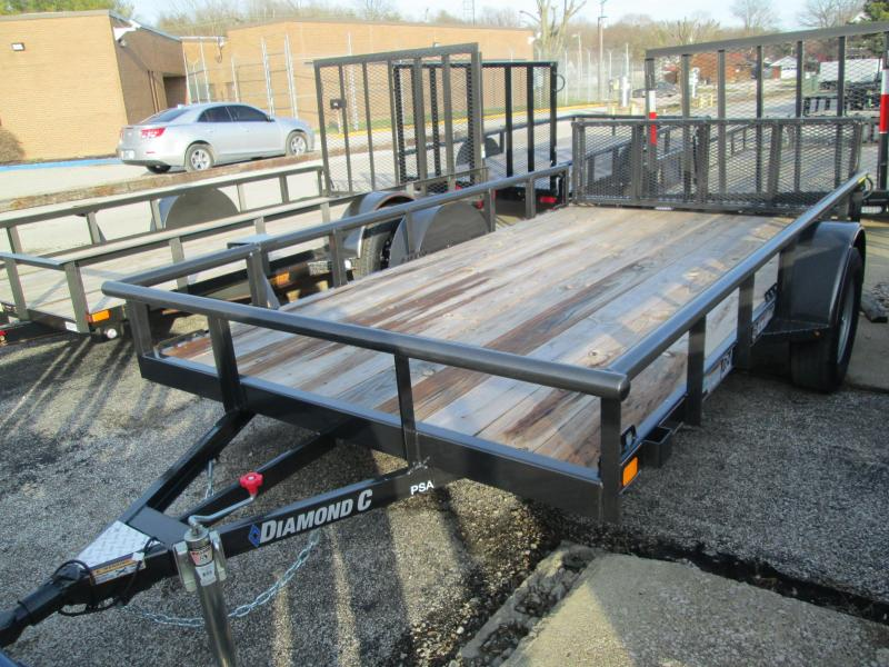 2020 12x77 Diamond C Utility Trailer. 18533