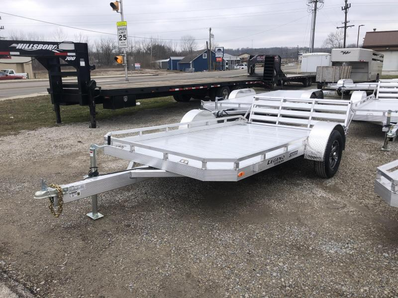 2020 7'x12' Legend Aluminum Utility with ramp gate. 17897
