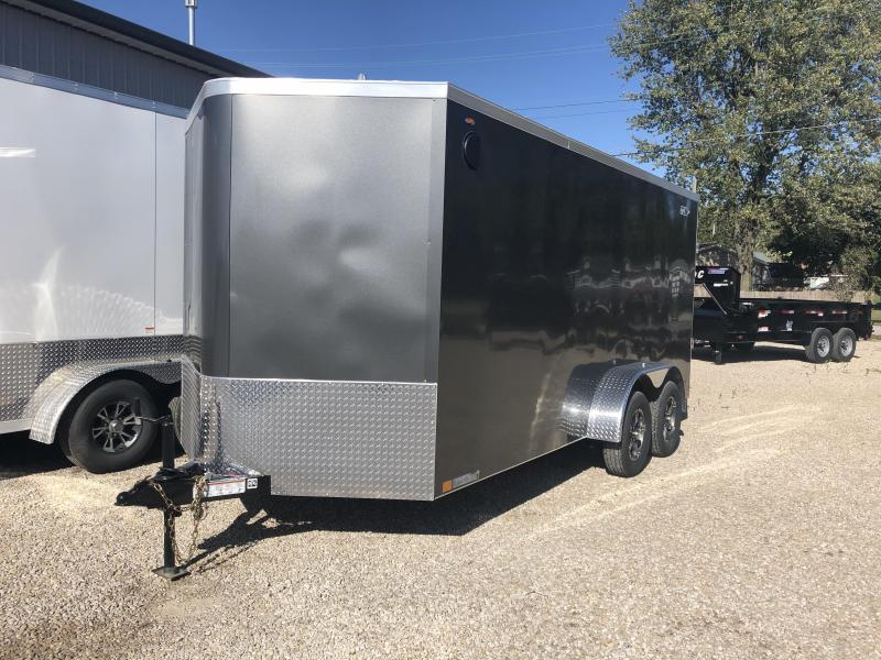 2020 LEGEND STV CYCLONE 7x16 plus V-nose. 17326