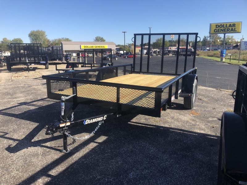 2020 12x77 Diamond C Utility Trailer. 21030