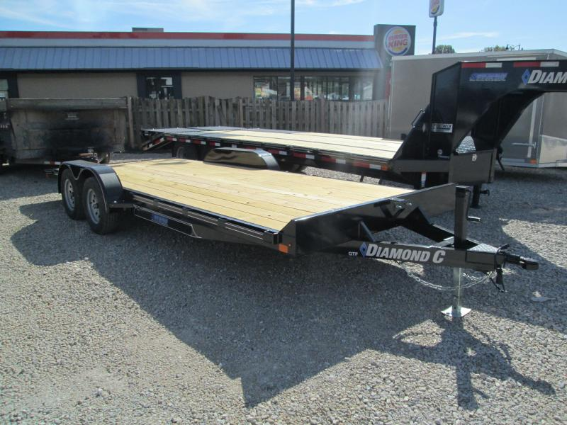 2020 20x83 7K Diamond C Equipment Trailer. 19955