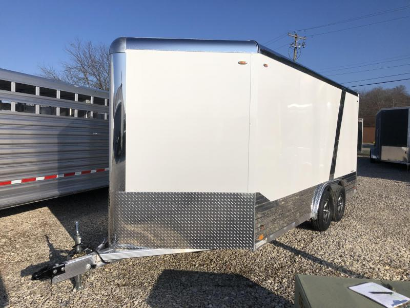 2020 LEGEND Deluxe V-Nose 8x16 plus v-nose with ramp. 17637