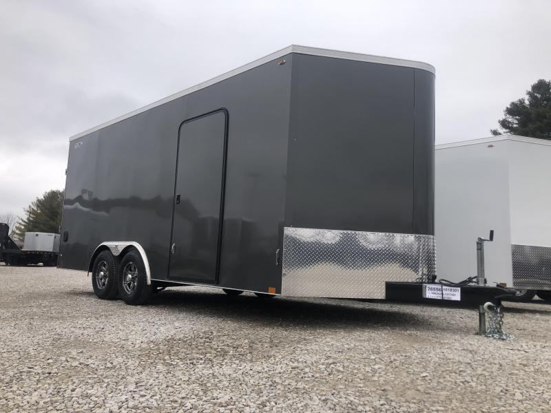 2020 8.5x18+2 10K Legend Cyclone Enclosed Trailer. 17342