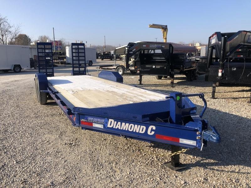 "2020 20'+2'x82"" 14.9K Diamond C Low-Profile Equipment Trailer. 21847"