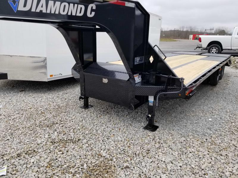 "2020 FMAX 210MR 20'+5'x102"" 25K Diamond C Engineered Beam Equipment Trailer. 23729"