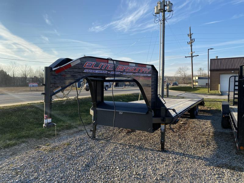 2018 25'+5' 15.5k Diamond C Equipment FMAX207 Trailer. 3608