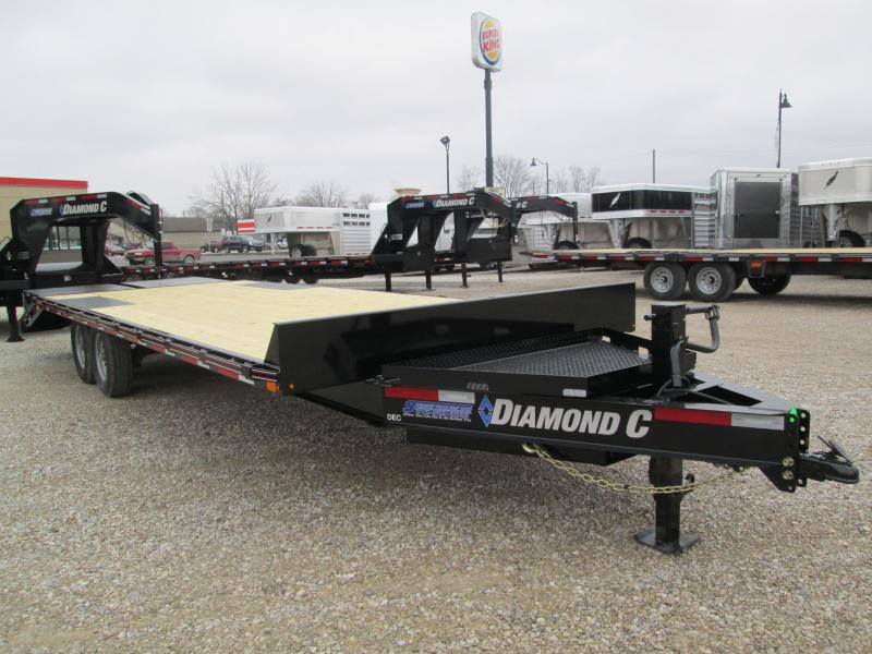 "2020 20'+5'x102"" 14.9K Diamond C DEC Equipment Trailer. 23902"
