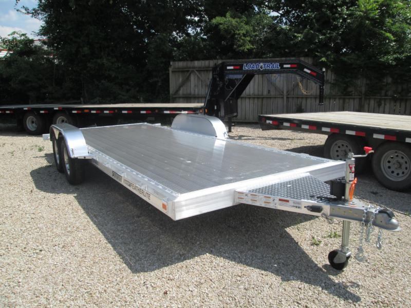 2019 18' 7K Featherlite Car Trailer. 152199