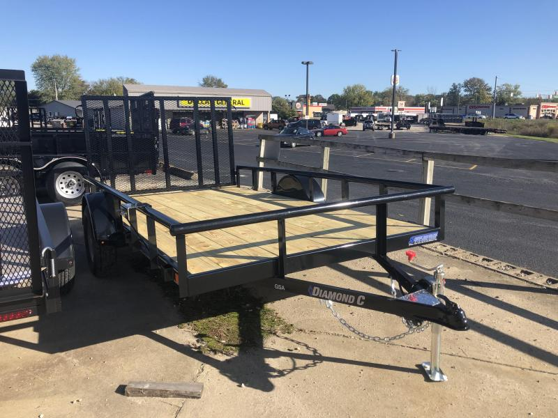 2020 12x77 Diamond C Utility Trailer. 21104