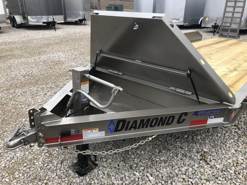 "2020 18'+2'x82"" 14.9K Diamond C LPX207 Equipment Trailer. 25131"