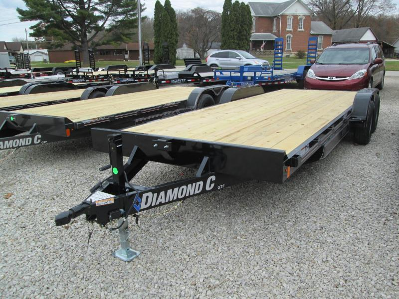 2020 20+2 7K Diamond C Utility Trailer. 21246