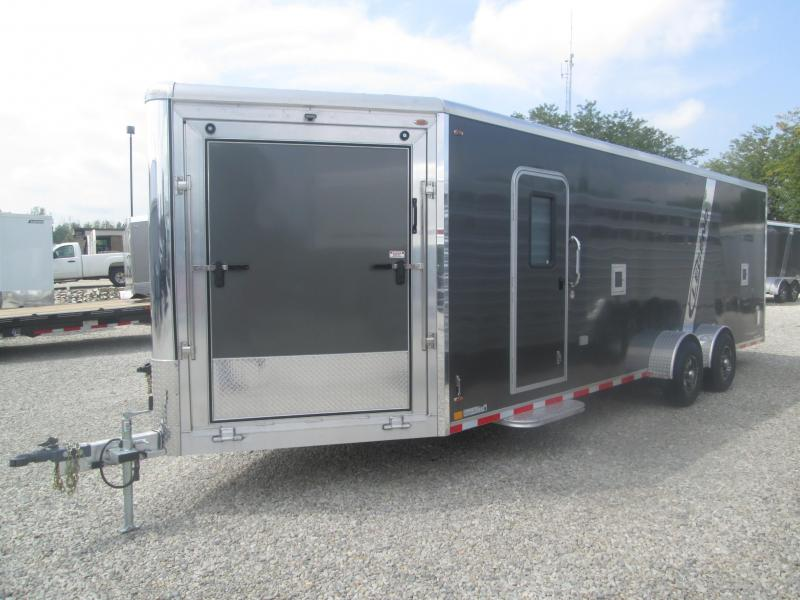 POWER SPORTS TRAILER 2020 7x24 +5' Vnose LEGEND Trackmaster Multi-PurposeEnclosed Trailer