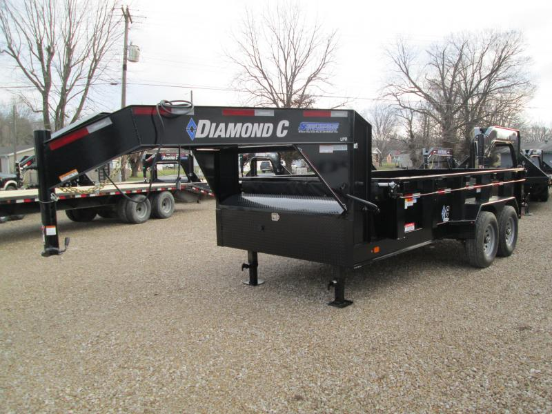 2020 14x82 14.9K LPD Diamond C Dump Trailer. 23765