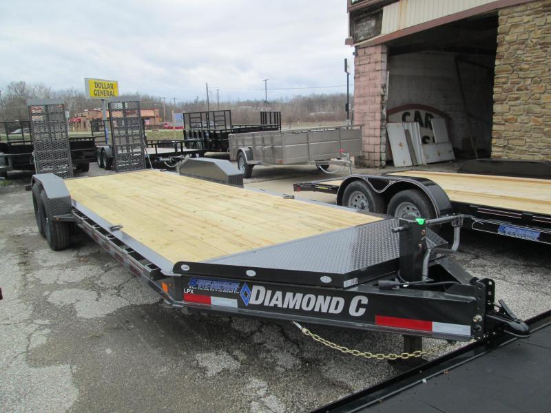 2020 Diamond C Trailers LPX207 Equipment Trailer