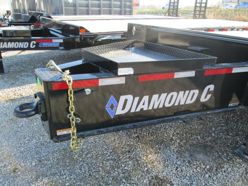 2020 20'+5' 25.9K Pintle Equipment Trailer. 21466