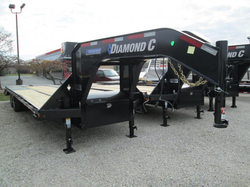 """2020 FMAX 212MR 30'x102"""" 25.9K Diamond C Engineered Beam Equipment Trailer. 20139"""
