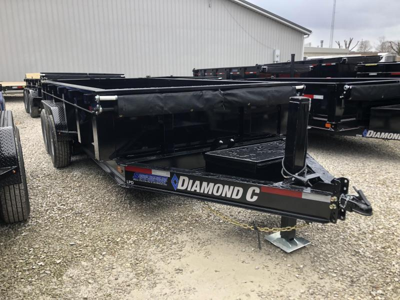 2020 14x82 14.9K Diamond C LPD Dump Trailer. 24626