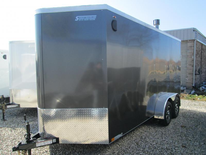 2020 7'x16'+2' 7k Legend Enclosed with ramp. 17364