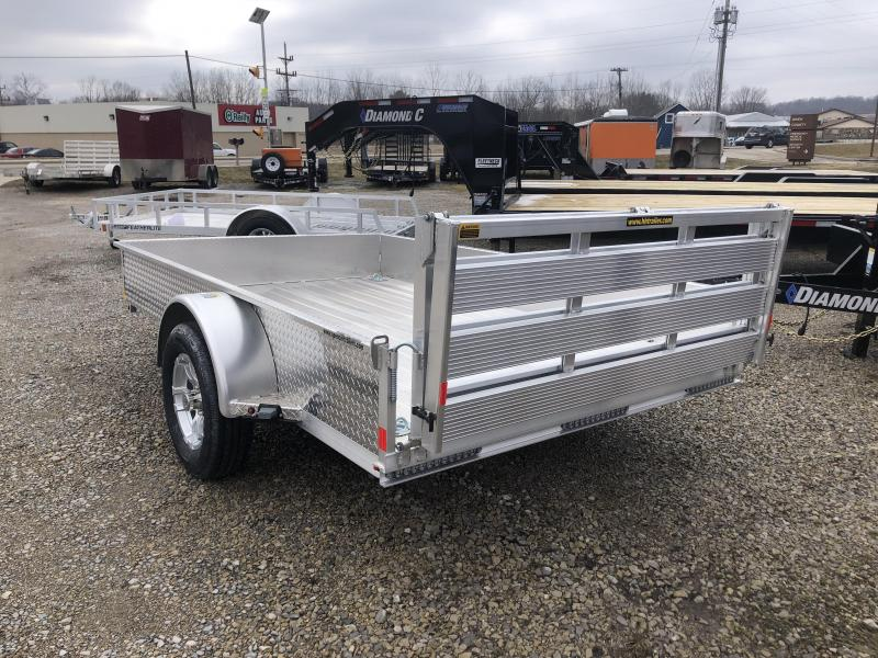 2019 8x10 H and H Utility Trailer. 19204