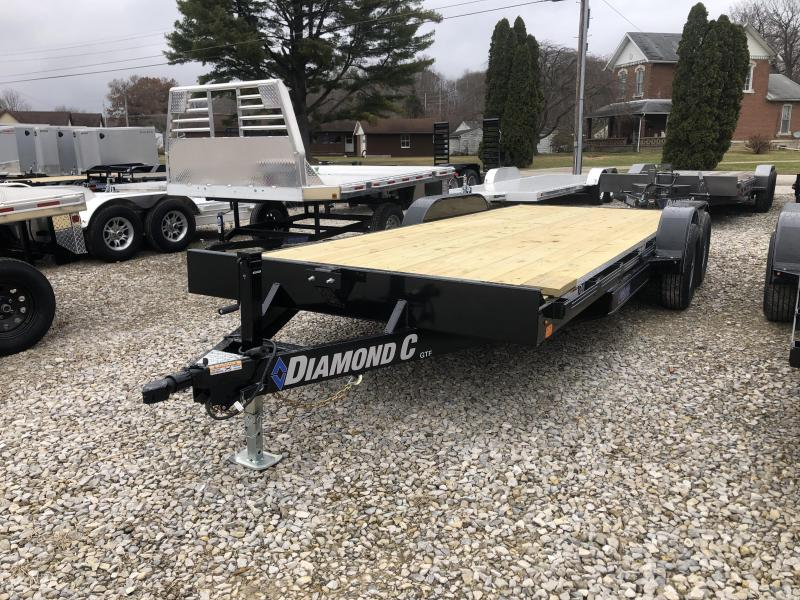 "2020 18'+2'x82"" 9.8K Diamond C Carhauler Trailer. 22048"