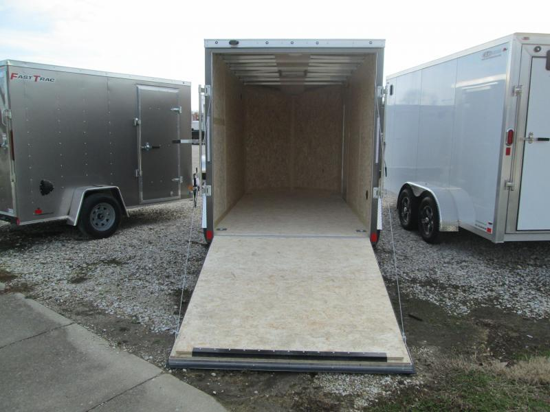 2020 6x12 Discovery Enclosed with ramp door. 06654