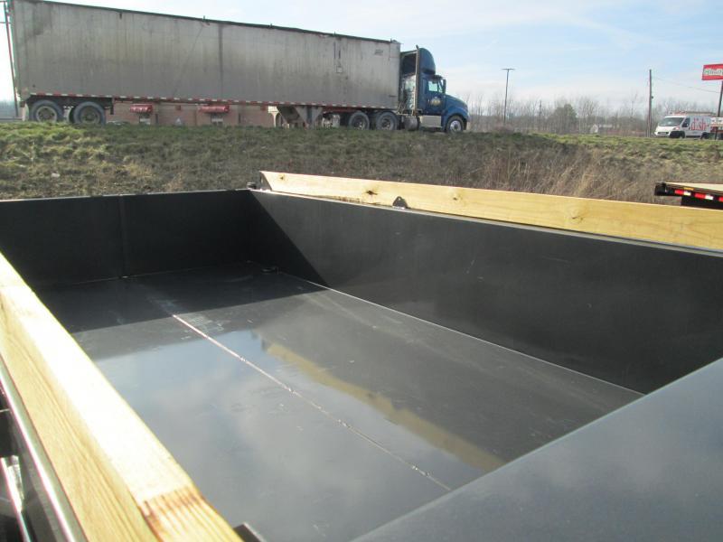 2020 14x83 14.9K Diamond C LPD Gooseneck Dump Trailer. 22760