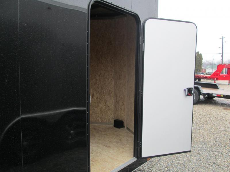 2020 7x14+2 V-Nose 7K Legend STV Cyclone Enclosed Trailer. 17617