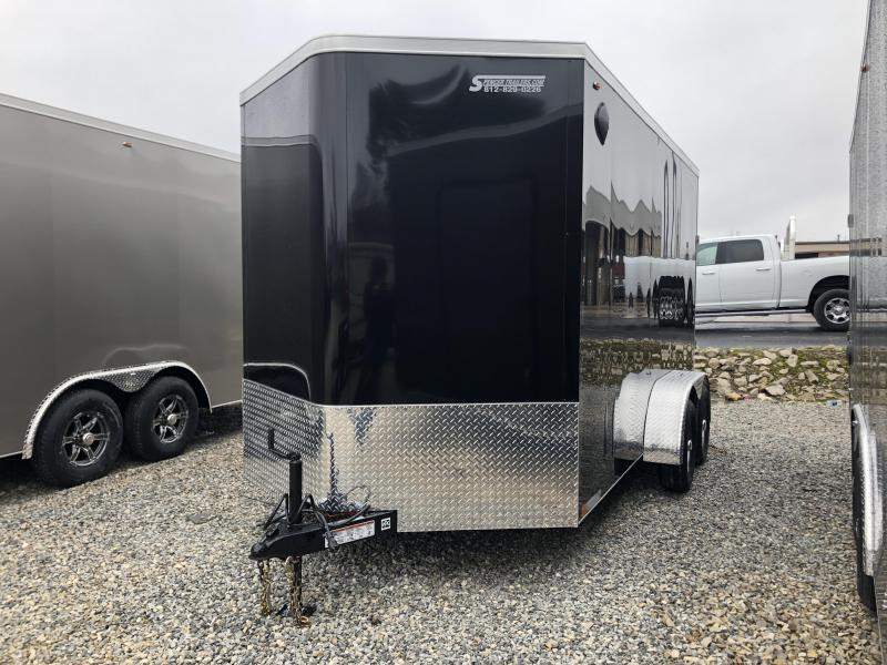 2020 7x14+2 V-Nose 7K Legend STV Cyclone Enclosed Trailer. 17617