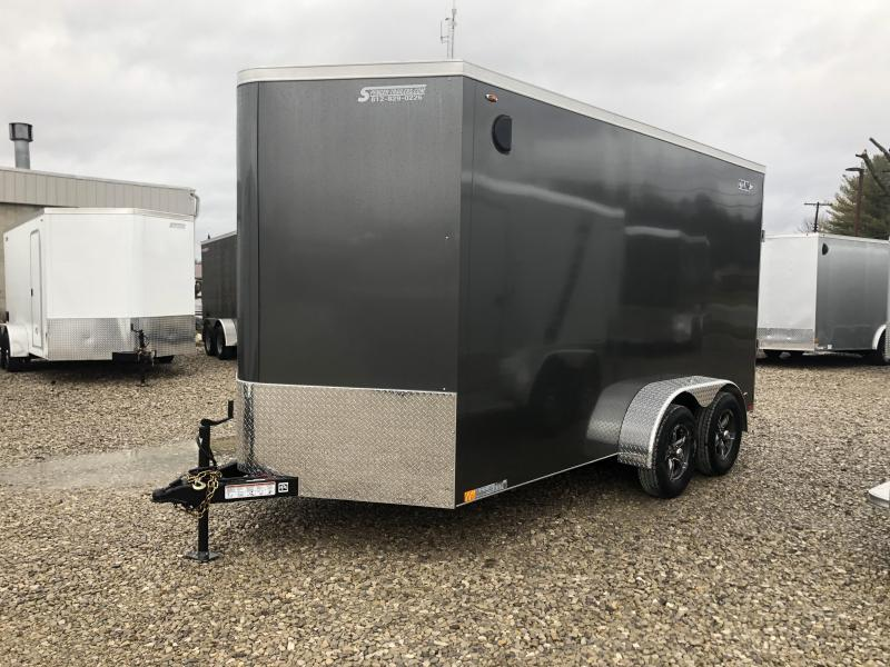 2020 LEGEND 7x14 plus V-nose Enclosed Trailer. 17092