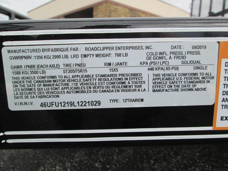 2020 12x77 Diamond C Utility Trailer. 21029
