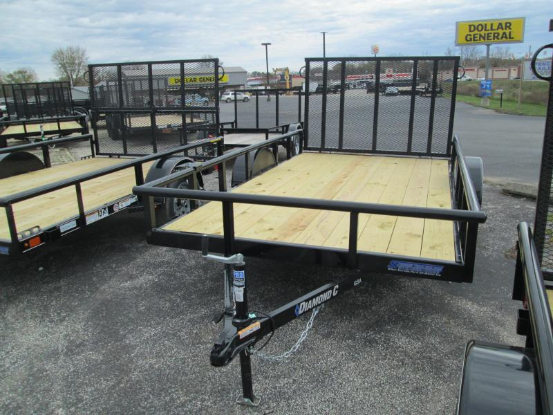 2020 12x77 Diamond C Utility Trailer. 21029