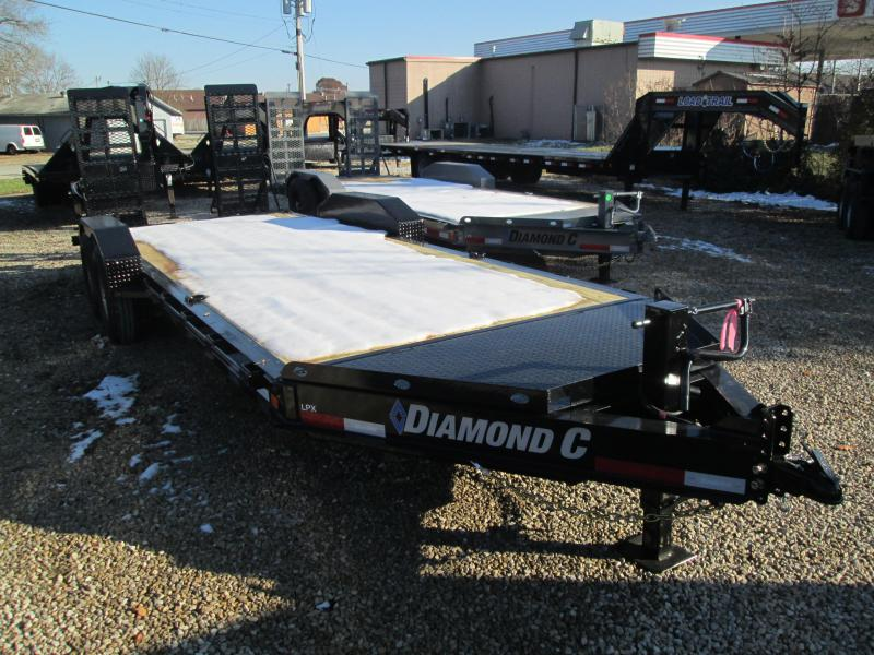 2020 18+2x82 14.9K Diamond C Equipment Trailer. 21845