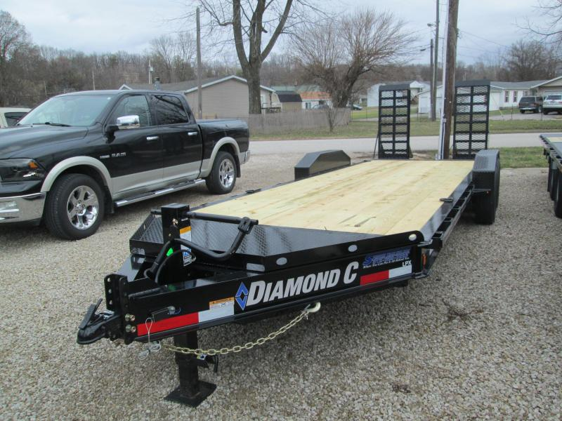 "2020 20'+2'x82"" 14.9K Diamond C LPX207 Eguipment Trailer. 23069"