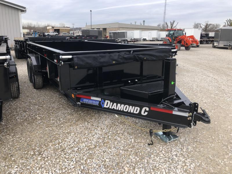 2020 16x82 14.9K Diamond C LPD Dump Trailer. 24682