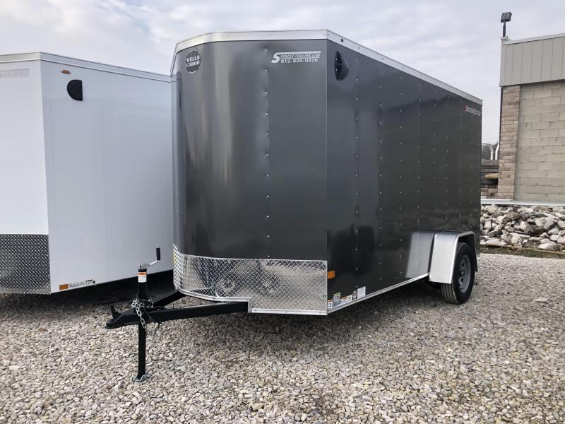 2020 6x12 Wells Cargo FastTrac Enclosed Trailer. 00629