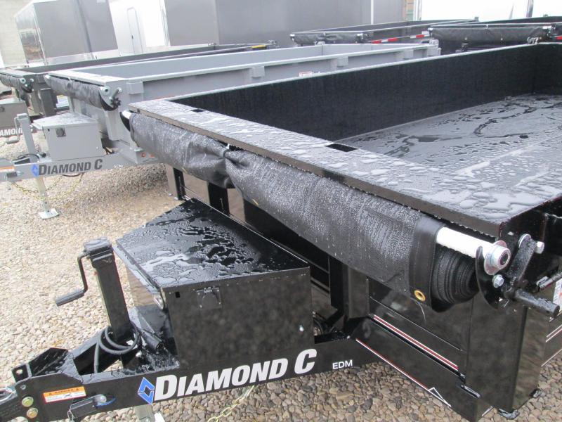 "2020 77""x12' 9890lb. GVWR Diamond C Dump. 22167"