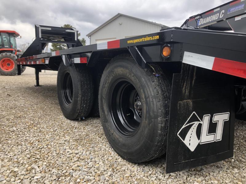"""2020 20'+5'x102"""" 22K Load Trail Gooseneck Equipment Trailer. 00777"""