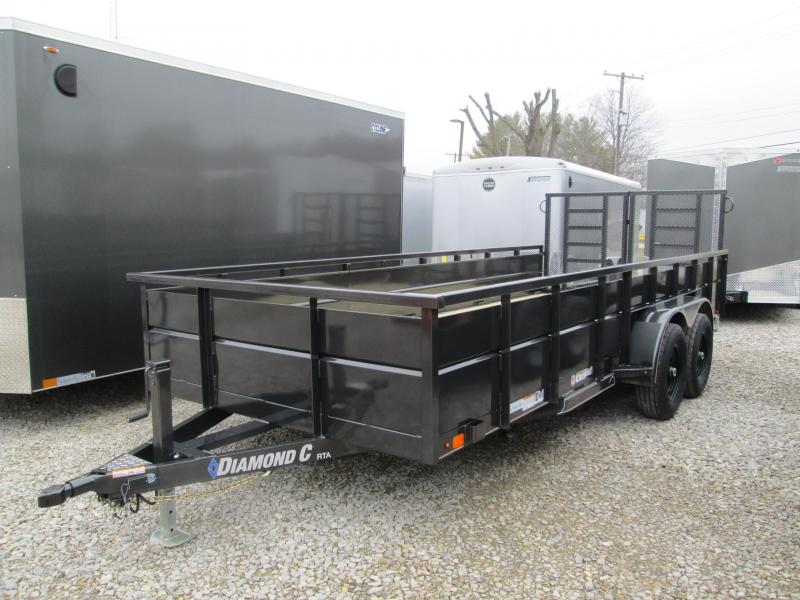 2020 18x82 7K Diamond C Utility Trailer. 24683