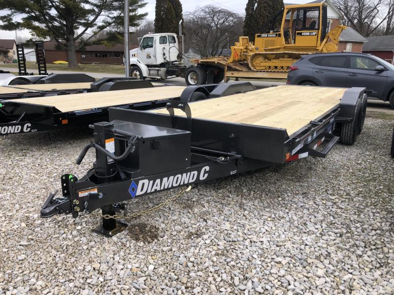 2020 22x82 14K Diamond C EQT207 Equipment Trailer. 24541