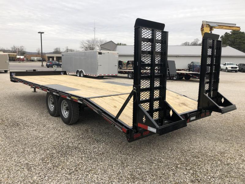 2019 20+4x102 14.9K Diamond C Equipment Trailer. 7055