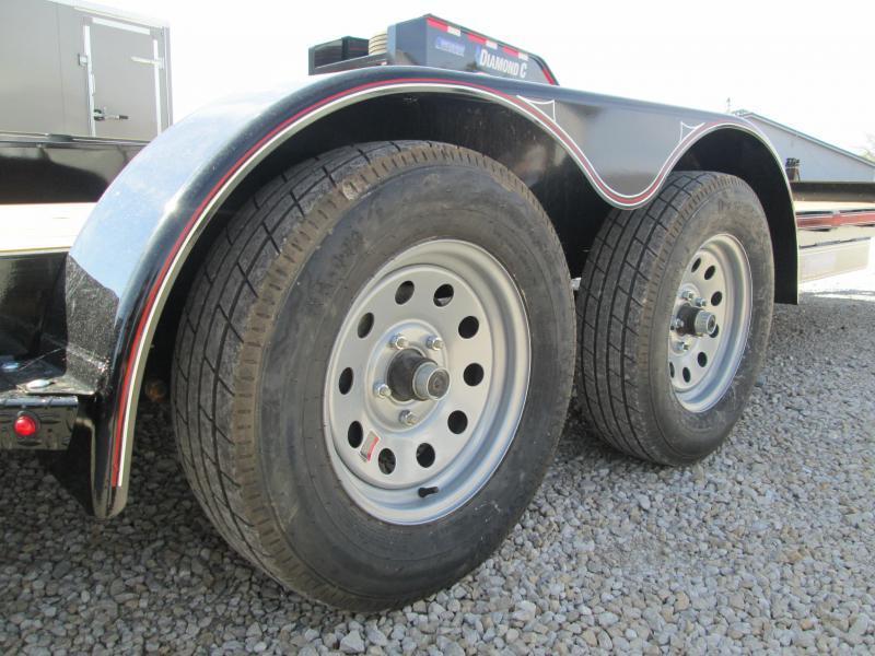 2020 20x83 7K Diamond C car hauler Trailer. 19955